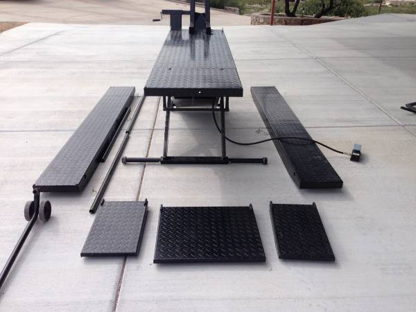 Craigslist Las Cruces Nm >> Direct Lift 1000 Lb Lift Table For Sale In Las Cruces New Mexico