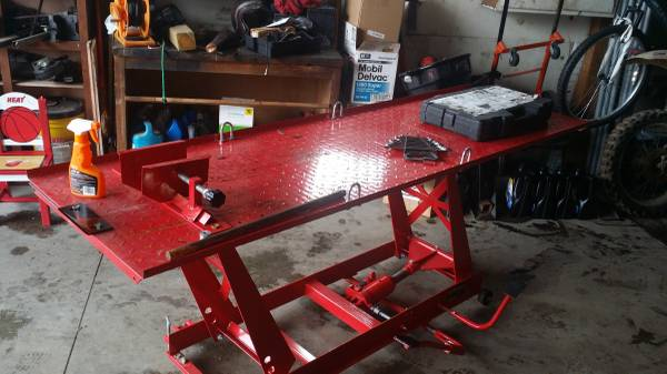 Motorcycle Lift Table For Sale in North Judson, Indiana