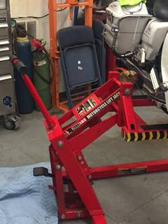 Bestway Motorcycle 1200 lb Lift Table For Sale in East ...