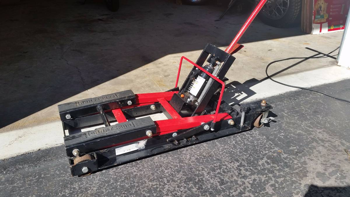 Otc Motorcycle Lift : Handy motorcycle lift table for sale in fredonia new york
