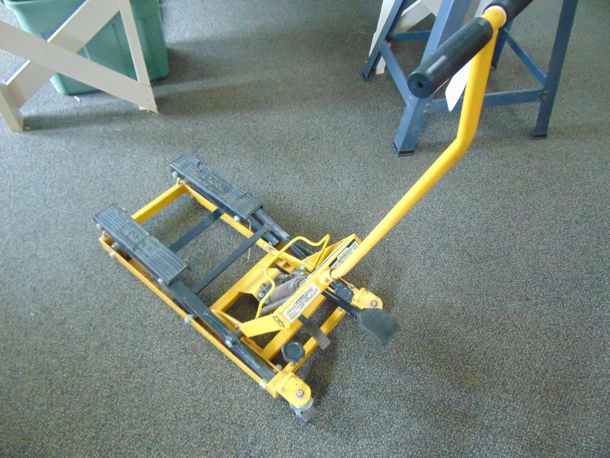 Harbor Freight Motorcycle Lift Jack For Sale in Saginaw ...