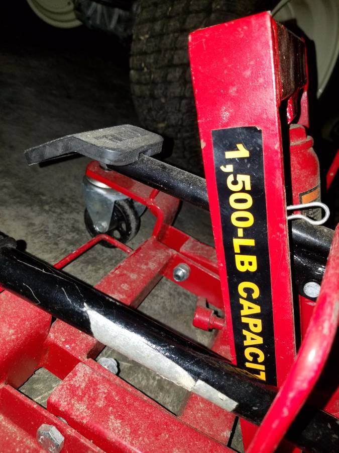 Torin Motorcycle 1500 lb Lift Jack For Sale in Stafford ...