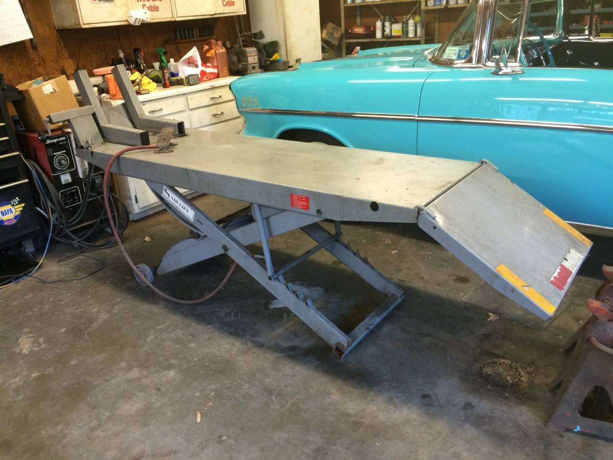 Handy Motorcycle Lift Table For Sale In Fredonia New York