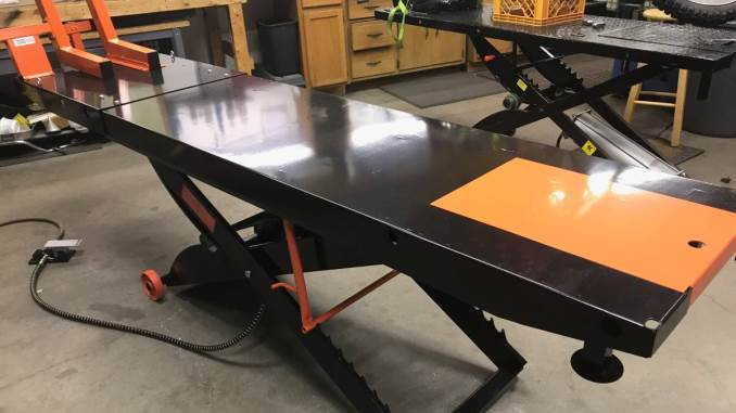 lift table waukesha wi