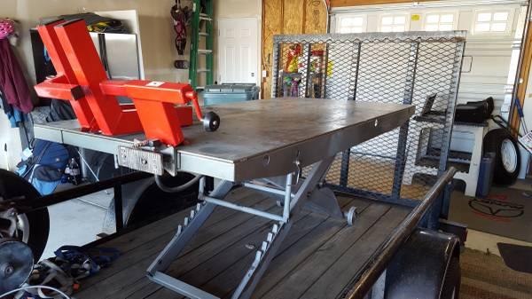 Handy Motorcycle Lift Table 1500 lbs For Sale in Spokane ...
