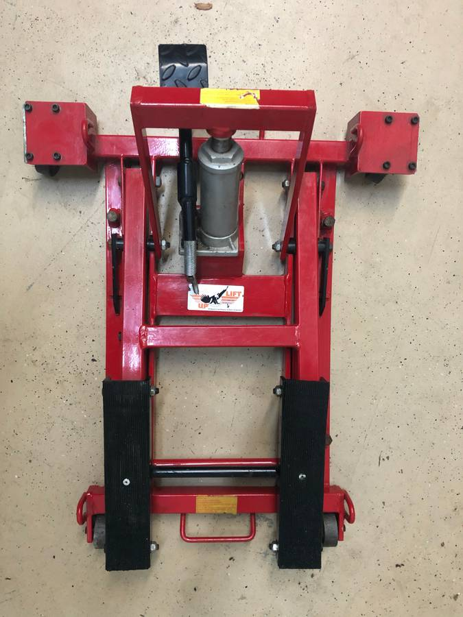 Torin Big Red Motorcycle 1500 lb Lift Jack For Sale in ...