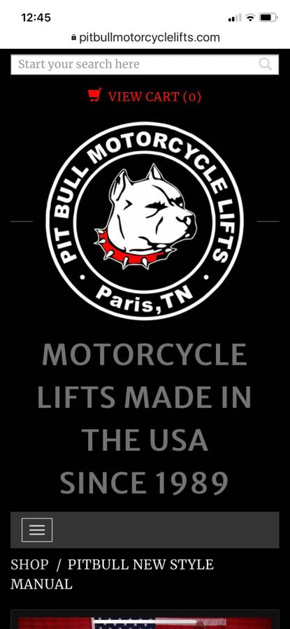 Pitbull Motorcycle 1450 lb Lift Jack For Sale in Saint ...